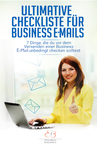 Ultimative Checkliste für Business E-Mails
